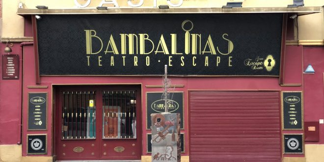 Oasis Club Teatro se reinventa con aventuras de scape room en su edificio