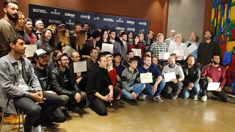 Propuestas nominadas a los 21º Premios de la Música Aragonesa Aragón Musical