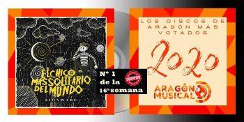 Lionware firma el trabajo más votado de discos aragoneses en la 16ª semana de votaciones