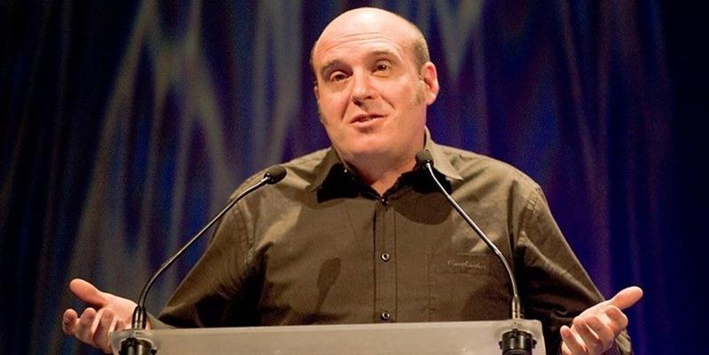 José Manuel Glaria durante los 16º Premios de la Música Aragonesa Aragón Musical
