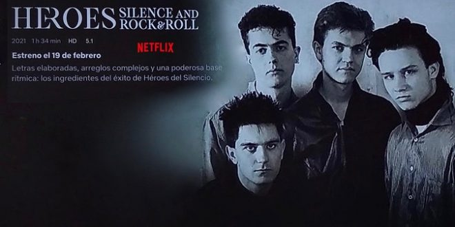 Netflix estrenará Heroes: Silence And Rock & Roll, documental sobre Héroes del Silencio