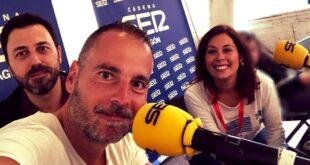 Aragón Musical en el programa 'A Vivir Aragón' de Cadena SER Aragón, con Lorena Ruano