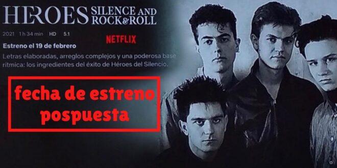 Retrasada la fecha de estreno en Netflix del documental de Héroes del Silencio