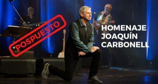 Concierto homenaje a Joaquín Carbonell pospuesto por la pandemia