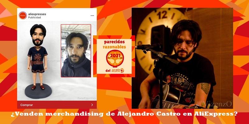 ¿Este es el merchandising oficial del músico Alejandro Castro?