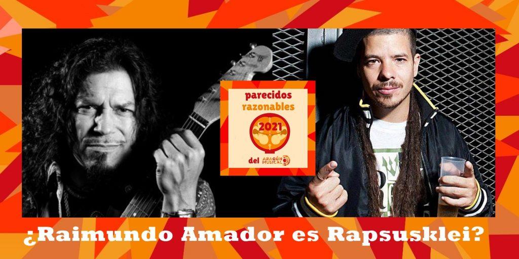 ¿Será Raimundo Amador en realidad el rapero Rapsusklei?