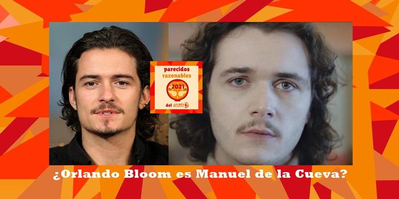 ¿Es el actor Orlando Bloom en realidad el músico Manuel de la Cueva?