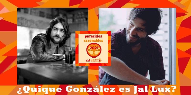 ¿El cantautor Quique González es en realidad fotógrafo, en concreto Jal Lux?