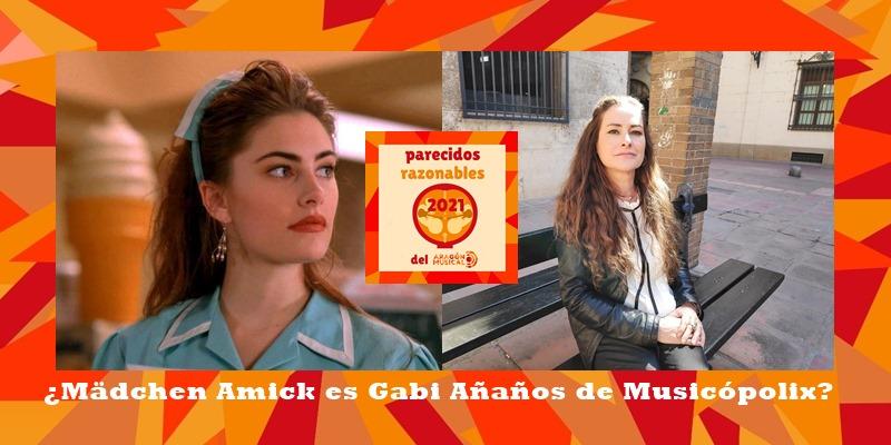 ¿Mädchen Amick que interpretase a Selly Johnson en Twin Peaks es en realidad Gabi Añaños de Musicópolis Zaragoza?
