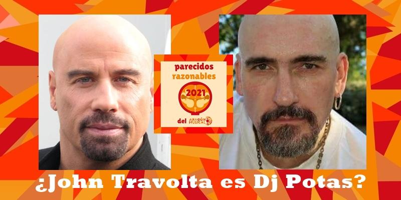 ¿Es John Travolta en realidad Dj Potas?