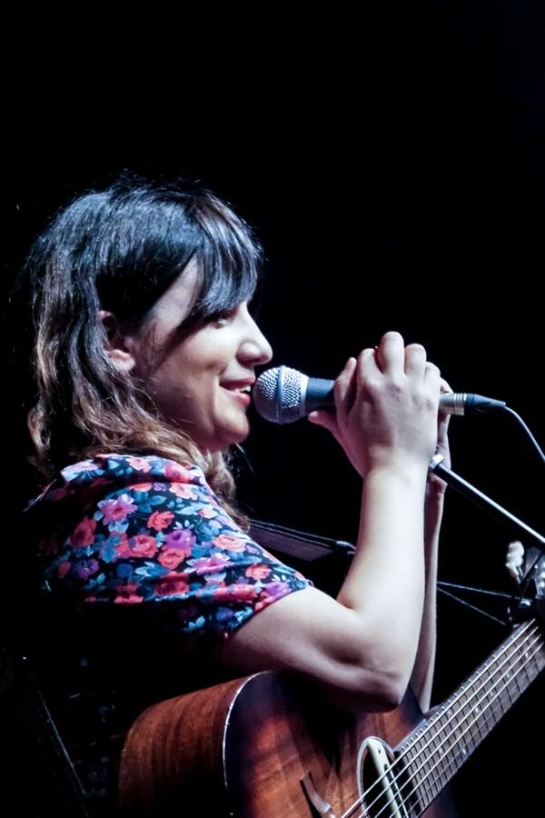 Joana Serrat. Centro Cívico Delicias. 21/2/21. Foto, Laura García