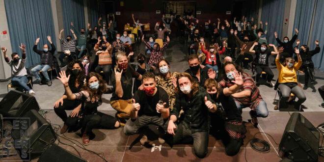El grupo China Chana tras su actuación en el Ciclo Desconciertos en enero de 2021. Foto de Jal Lux.