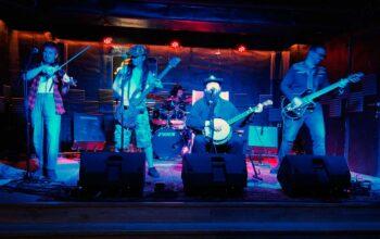 Los Drunken Cowboys. 30/1/21 Sala Rockville, Madrid