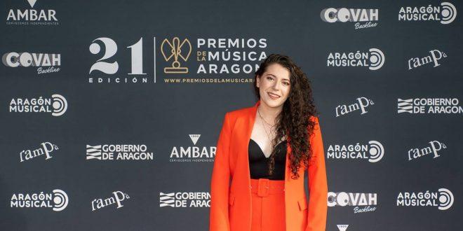 Eva McBel / 21 Premios de la Música Aragonesa. Foto, Ángel Burbano
