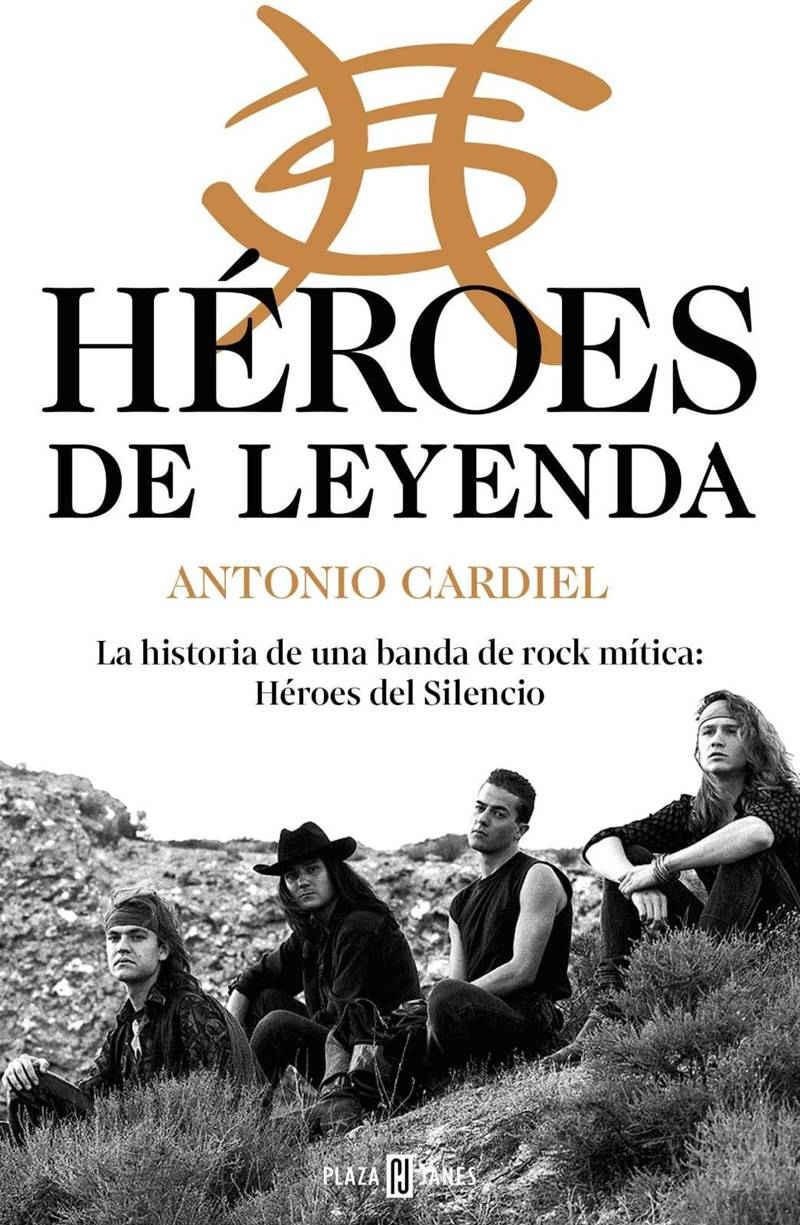 Portada del libro 'Héroes de Leyenda' de Antonio Cardiel