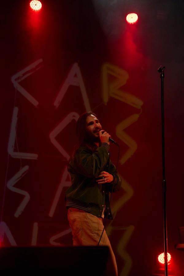 Carlos Sadness. Palacio de Congresos de Huesca. 23/4/21. Foto, Luis López Latorre