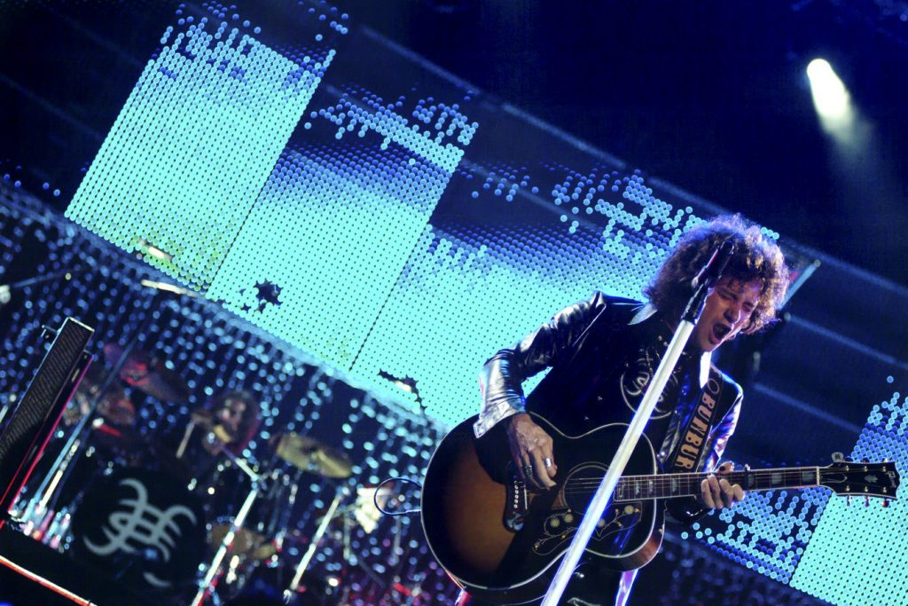 Héroes del Silencio - Tour 2007 Zaragoza - Foto, Ángel Burbano