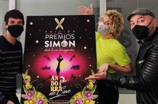 La actriz Ana Roche presentará los X Premios Simón del Cine Aragonés, con guión de Daniel Tejero y Roberto Malo