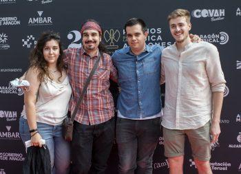 22º Premios de la Música Aragonesa. Foto, Ángel Burbano