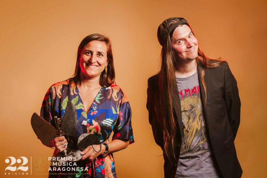 Titiriteros de Binéfar. 22º Premios de la Música Aragonesa. Foto, Jal Lux