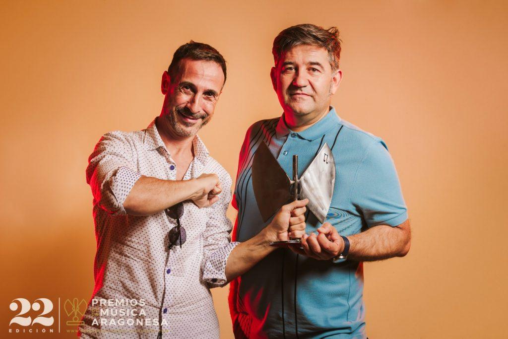 Starkytch Pinchadiscos. 22º Premios de la Música Aragonesa. Foto, Jal Lux