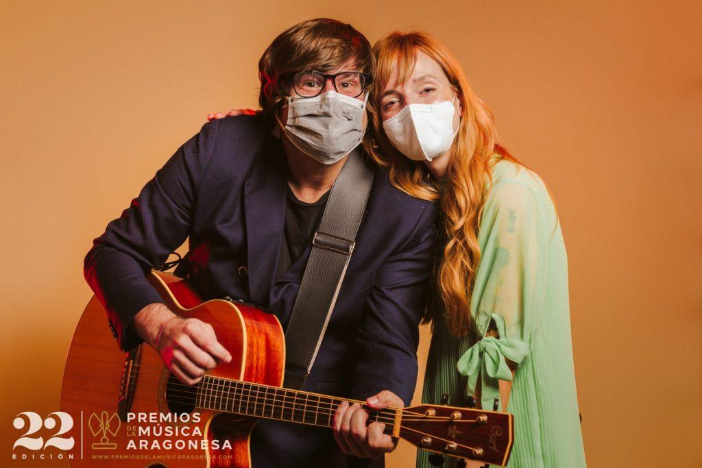 Luis Cebrián y Ana Muñoz. 22º Premios de la Música Aragonesa. Foto, Jal Lux