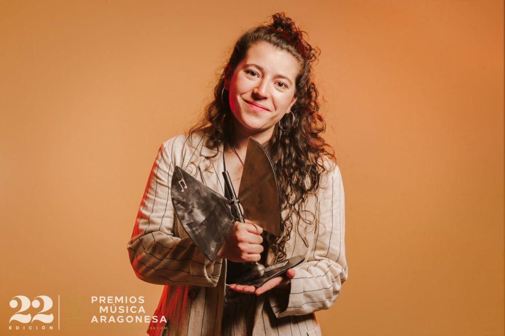 Eva McBel. 22º Premios de la Música Aragonesa. Foto, Jal Lux