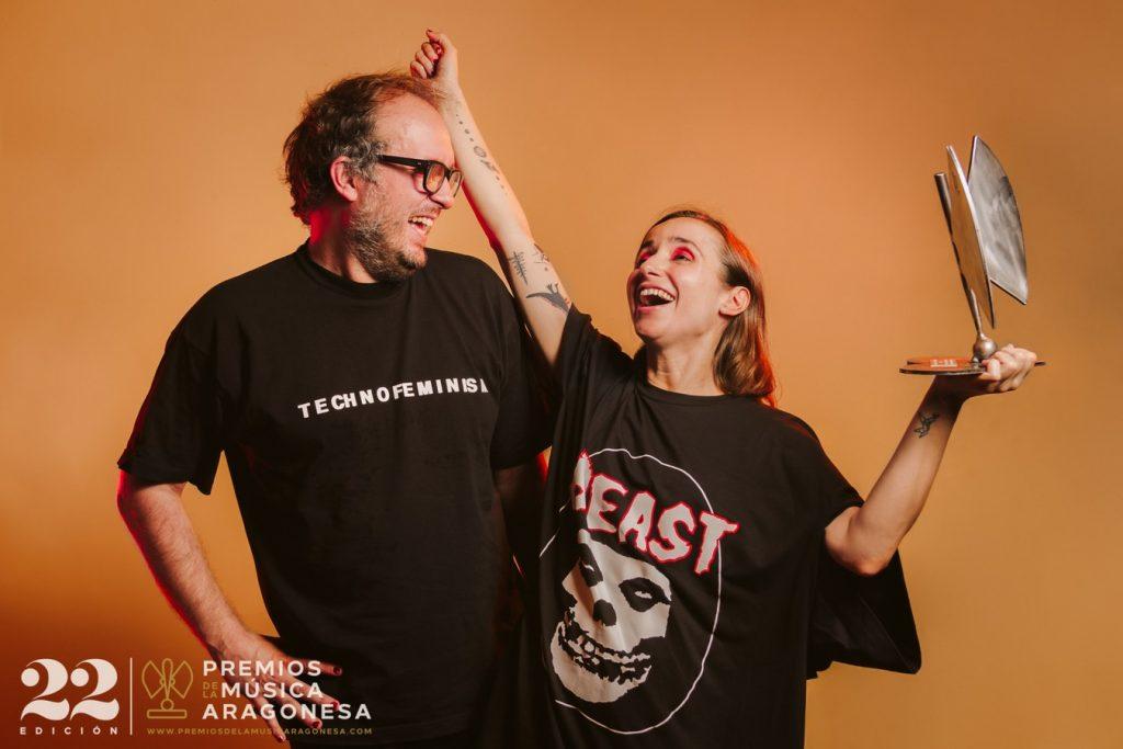 Zahara. 22º Premios de la Música Aragonesa. Foto, Jal Lux