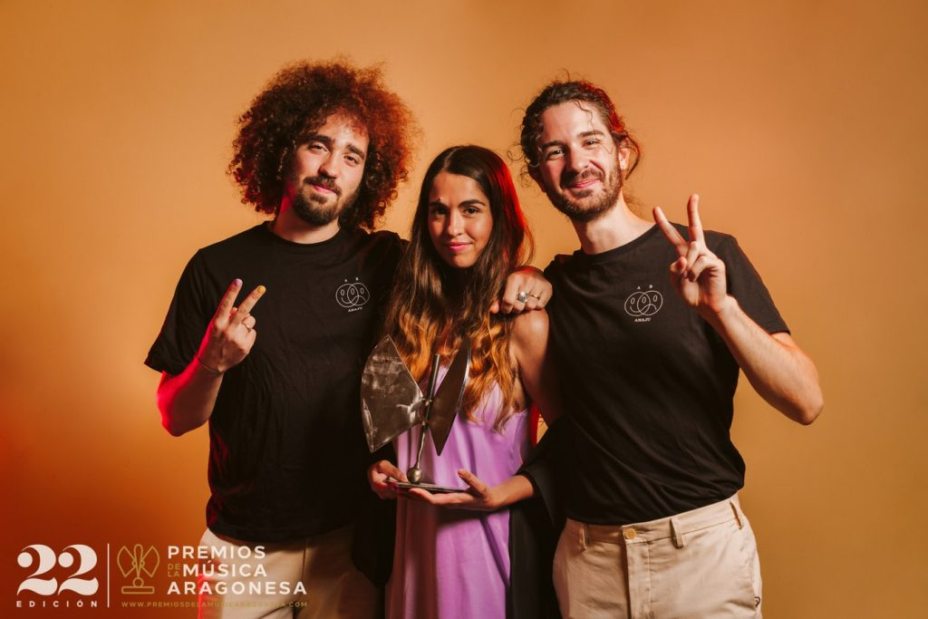 Anaju. 22º Premios de la Música Aragonesa. Foto, Jal Lux