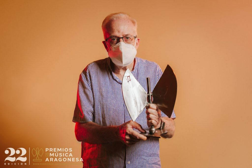 Igancio Micolau. 22º Premios de la Música Aragonesa. Foto, Jal Lux