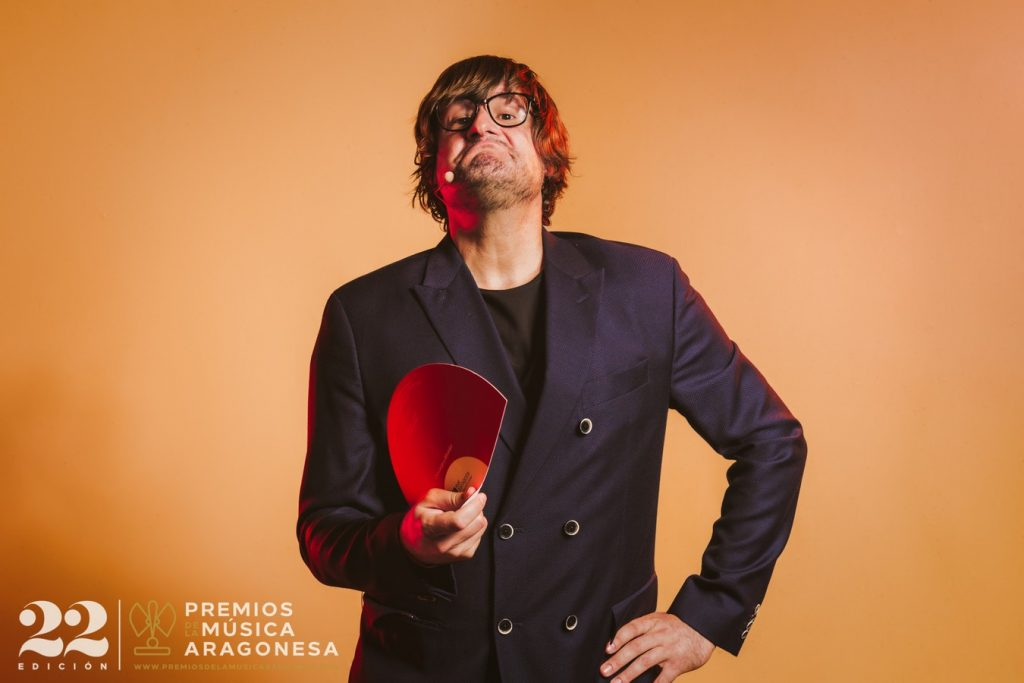 Luis Cebrián. 22º Premios de la Música Aragonesa. Foto, Jal Lux