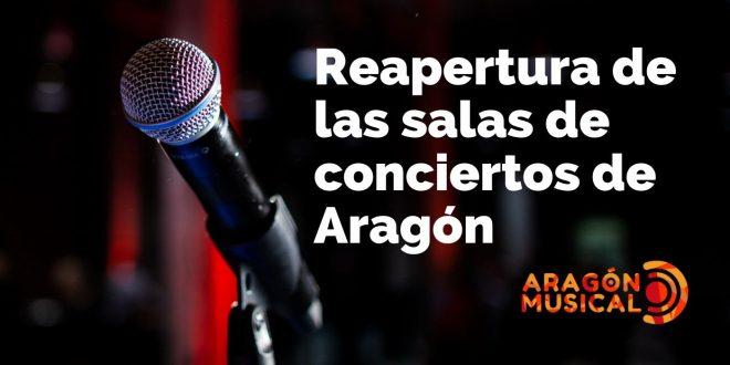 Las salas de conciertos de Aragón van abriendo sus puertas