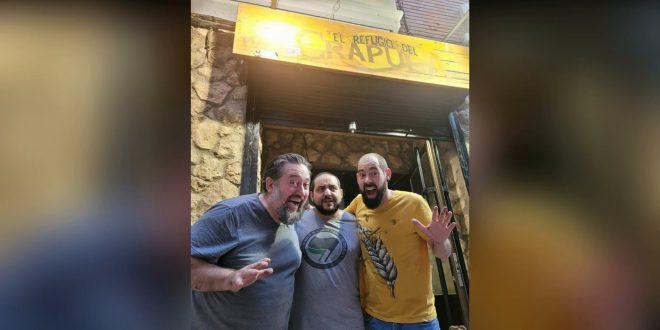 Mariano Bartolomé, Jon Quílez y Jorge Castillo reabren El Refugio del Crápula de Zaragoza
