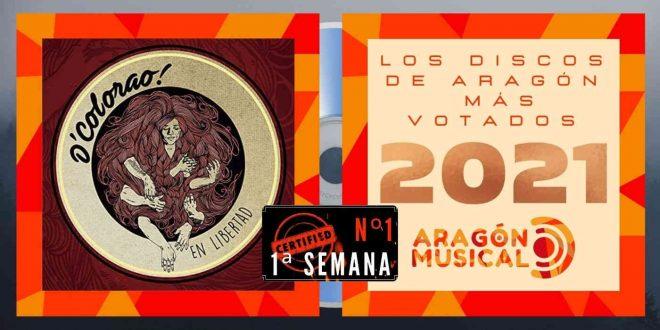 1ª semana de votaciones de los Discos Aragoneses de 2021