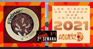 Semana 2ª de votaciones de los discos aragoneses más destacados de 2021