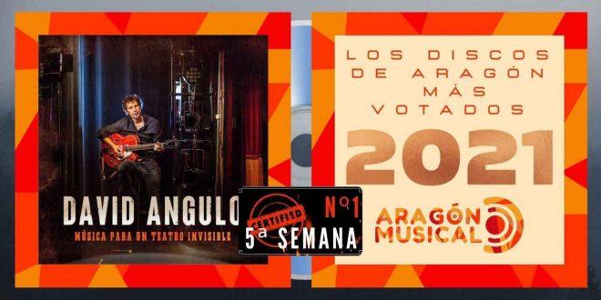 El disco 'Música para un Teatro Invisible' de David Angulo ocupa la primera posición de Los Discos más Votados de 2021 en su 5ª semana de lista