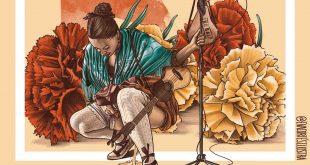 Detalle de la portada del disco 'O Zaguer Chilo V' de Nogará Religada