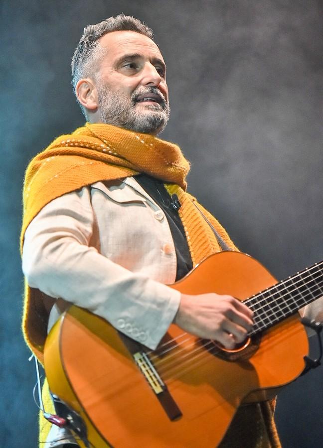 Jorge Drexler. 13/10/21. Jardín de Invierno de Zaragoza. Foto, Ángel Burbano