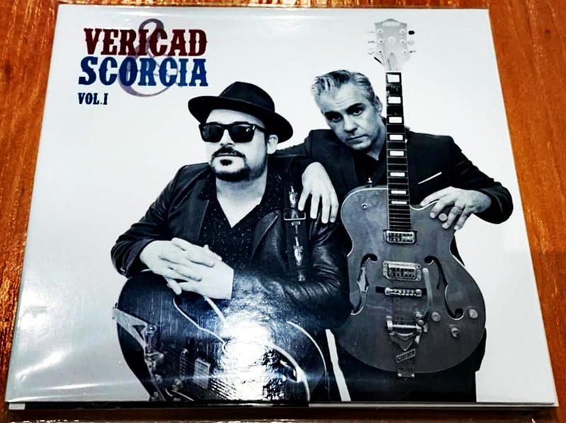 Portada del disco de Cuti Vericad y Miguel Ángel Escorcia